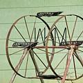 Bubbas  Fairs Wheel by Jeff Downs