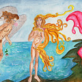 Bubblegum Angel And The Birth Of Venus by Debbie Davidsohn