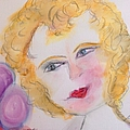 Bubbles At Her Party by Judith Desrosiers