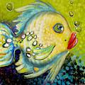 Bubbles Fish by Ellen Mcgaughey