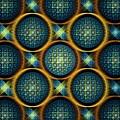 Bubbles - Pattern - Fractal by Anastasiya Malakhova