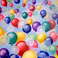 Bubbling Balloons by Kathern Welsh