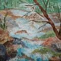 Bubbling Falls by Ellen Levinson