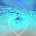 Bubbly Heart by Wanda Krack