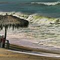 Bucerias Beach Mexico  by Chuck Kuhn