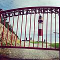 Buchan Ness Gate by Rasma Bertz