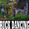 Buck Dancing T Shirt - Mountain Dancing - Porch Music by Walt Curlee