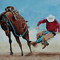 Bucking Bronco by Bill Dunkley