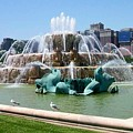 Buckingham Fountain by Anita Burgermeister