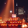 Buckingham Fountain In Chicago 2 by Thomas Firak