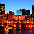 Buckingham Fountain by James Kirkikis