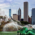 Buckingham Fountain by Kelley King