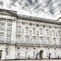 Buckingham Palace London Snow by David Pyatt