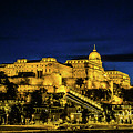 Buda Castle At Night by Lisa Lemmons-Powers