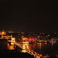 Budapest At Night Hungary by Eva Ramanuskas