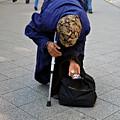 Budapest Beggar by Madeline Ellis