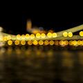 Budapest Bokeh Bridge 2 by Pam  Elliott