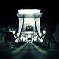 Budapest Chain Bridge by Marianna Mills