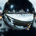 Budapest Globe - City Park Ice Rink by Gabor Tokodi