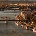 Budapest In The Morning Sun by Jaroslaw Blaminsky