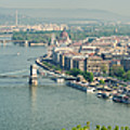 Budapest Panorama Photo by Matthias Hauser