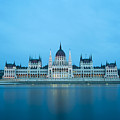 Budapest Parliament Building by Bojan Bokic