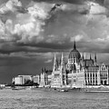 Budapest Parliament From The Chain Bridge by Russ Dixon