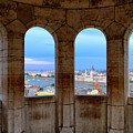 Budapest Parliament From The Fishermans Bastion by Russ Dixon