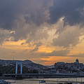 Budapest View by Judith Barath