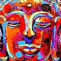 Buddha 3 by Angie Wright