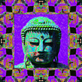 Buddha Abstract Window 20130130m28 by Wingsdomain Art and Photography