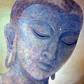Buddha Alive In Stone by Jennifer Baird