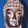 Buddha Head 1 by Lindsay Clark