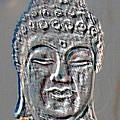 Buddha Head 3 by Lindsay Clark