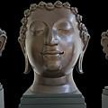 Buddha Head by Ty Lee