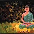 buddha Meditation by Arttantra