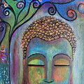 Buddha With Tree Of Life by Prerna Poojara