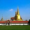 Buddhaist Temple by Douglas Barnett