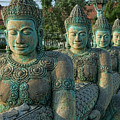 Buddhas All In A Row by Bill Bachmann - Printscapes