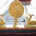 Buddhist Dharma Wheel by Dagmar Batyahav