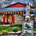 Buddhist Temple by FineArtRoyal Joshua Mimbs