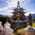 Buddhist Temple by Scott Kemper