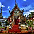 Buddhist Temples In Chiang Mai by Robert Kinser