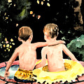 Buddies by Arline Wagner
