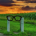Buddy Holly Glasses by Ron Miles Jr