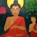 Budha Blessing by Divya Singh
