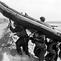 Buds Students Carry An Inflatable Boat by Michael Wood