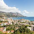 Budva Along The Adriatic Sea In Montenegro by Didier Marti