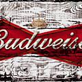 Budweiser Wood Art 5a by Brian Reaves