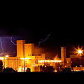 Budwesier Brewery Lightning Thunderstorm Image 3918 by James BO  Insogna